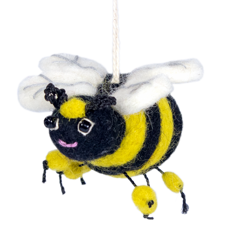 Honeybee Ornament