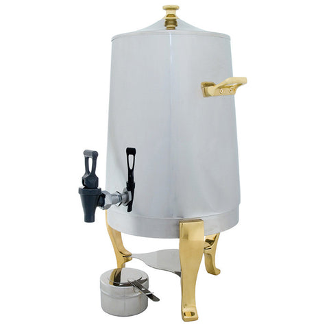 Coffee Urn - Gold Accented