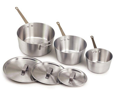 Heavy Gauge Aluminum Sauce Pan With Cover