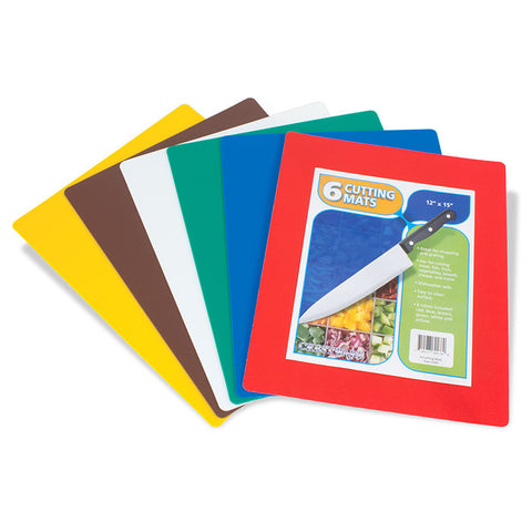 Flexible Cutting Board Set - 6 Pack