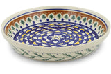 "Polish Pottery 10"" Pie Dish"