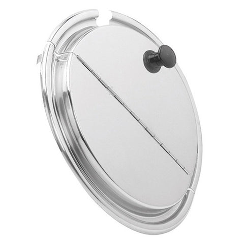 Inset Pan Hinged Cover - Round
