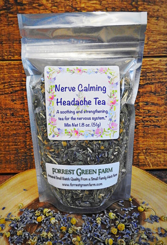 Nerve Calming Headache Tea
