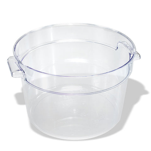 Clear Food Storage Container - Round