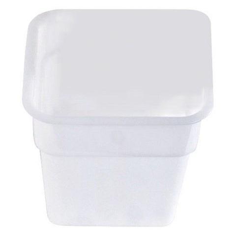 White Food Storage Containers - Square
