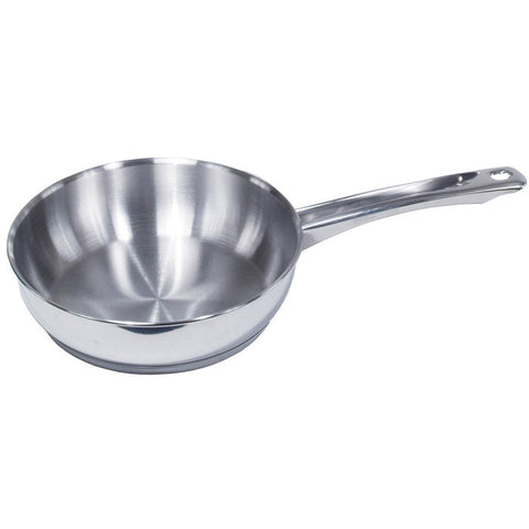 Induction Efficient Stainless Steel Fry Pan