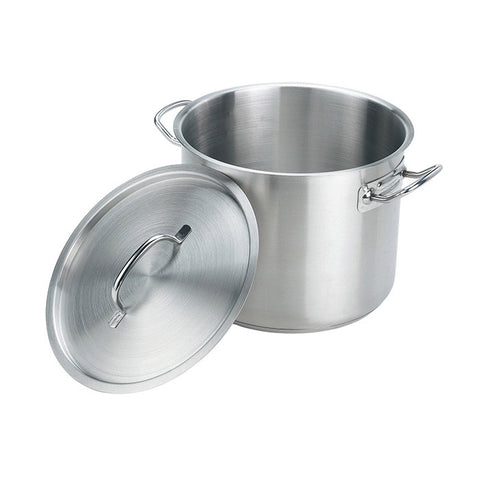 Induction Efficient Stainless Steel Stock Pot