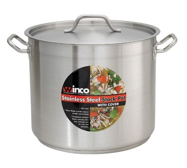 20 quart Stainless Steel Stock Pot with Lid