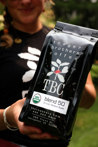 Trager Brothers Coffee Blend 50 12 ounce bag