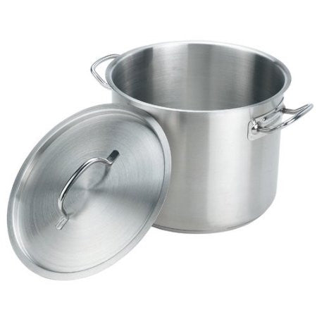 Aluminum Stock Pot With Cover