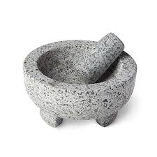 Granite Molcajete Mortar and Pestle