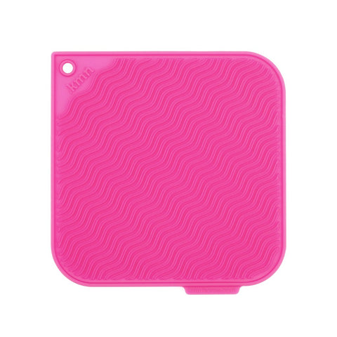 Pink Silicone Hot Pad