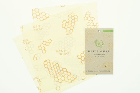 Bee's Wrap Medium Wrap - 3 Pack