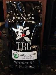 Trager Brothers Coffee Colombian 12 ounce bag