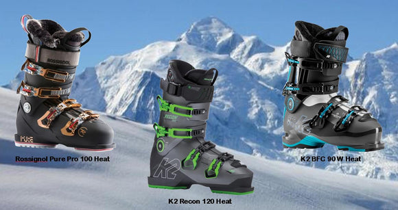 Your feet never need to be cold again when skiing.