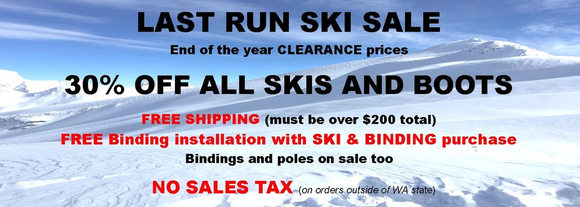Your Home Town Ski Shop on the Web