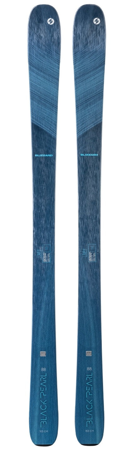 2021 Blizzard Black Pearl 88 ladies snow skis - ProSkiGuy your Hometown Ski Shop on the web