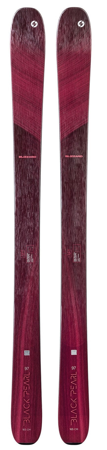 2022 Blizzard Black Pearl 97 ladies snow skis - ProSkiGuy your Hometown Ski Shop on the web