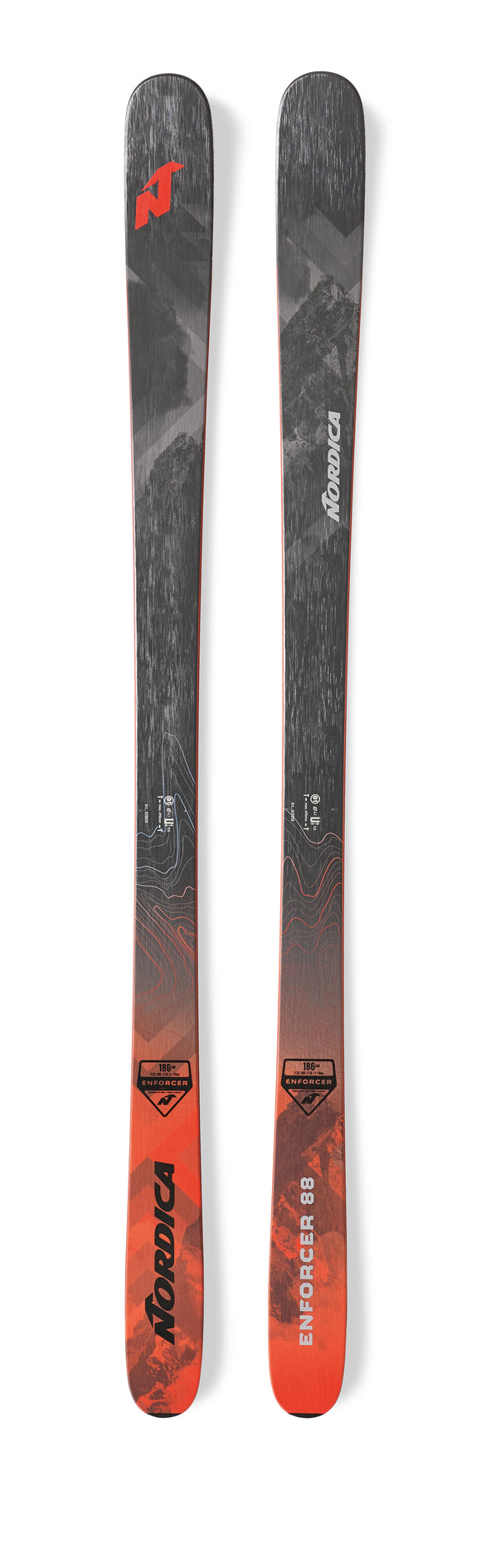 NORDICA 2020 Nordica Enforcer 88 snow skis - ProSkiGuy