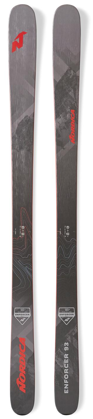 2020 Nordica Enforcer 93 snow skis - ProSkiGuy your Hometown Ski Shop on the web