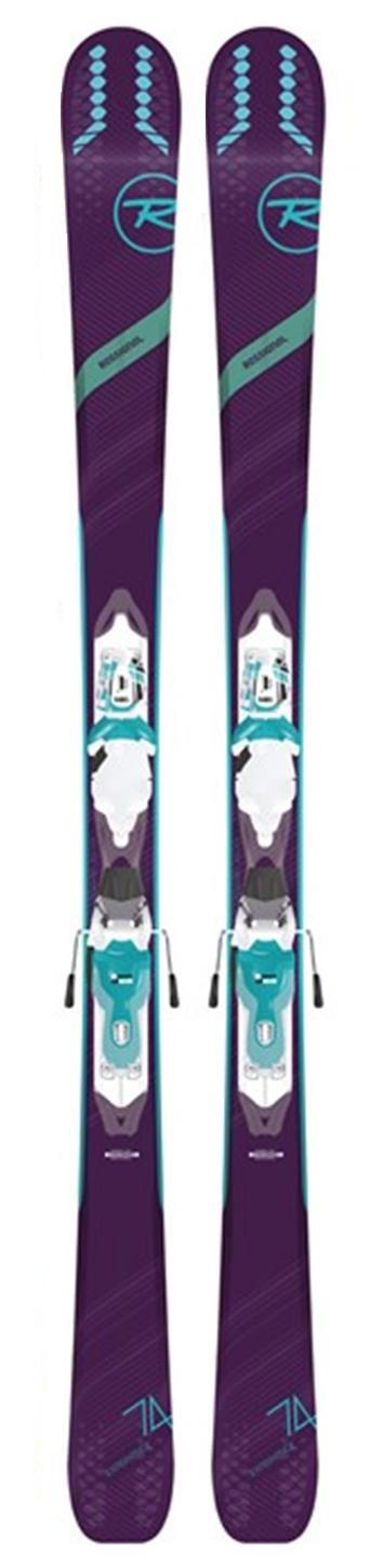 ROSSIGNOL 2019 Rossignol EXPERIENC 74 W ladies snow skis (CLEARANCE) - ProSkiGuy