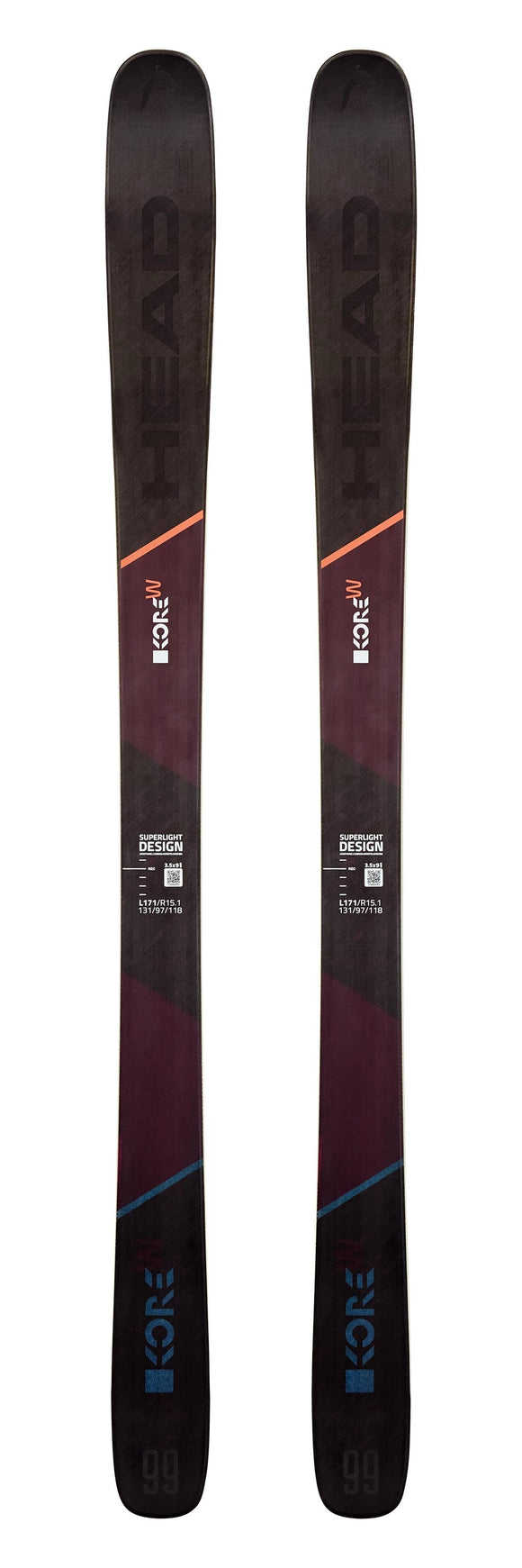 2020 Head Kore 99 W ladies snow skis - ProSkiGuy your Hometown Ski Shop on the web