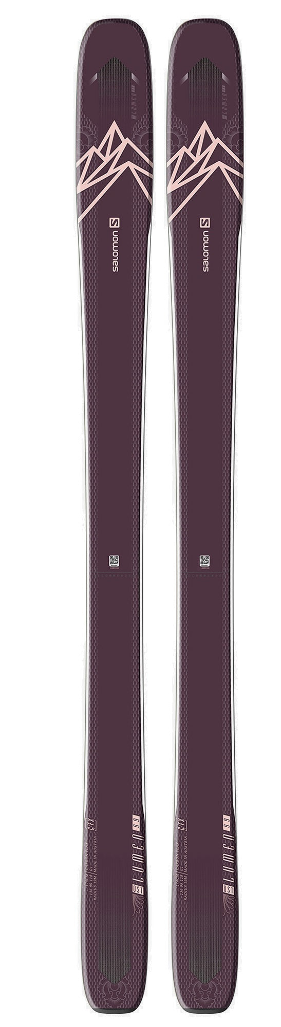 2021 Salomon QST Lumen 99 ladies snow skis - ProSkiGuy your Hometown Ski Shop on the web
