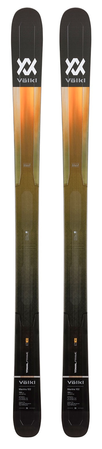 2021 VOLKL Mantra 102 snow skis - ProSkiGuy your Hometown Ski Shop on the web