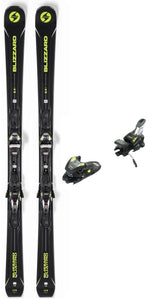 2019 Blizzard Quattro 8.4 Ti snow skis with bindings (CLEARANCE) - ProSkiGuy your Hometown Ski Shop on the web
