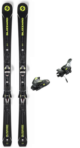 Blizzard 2019 Blizzard Quattro 8.4 Ti snow skis with bindings - ProSkiGuy