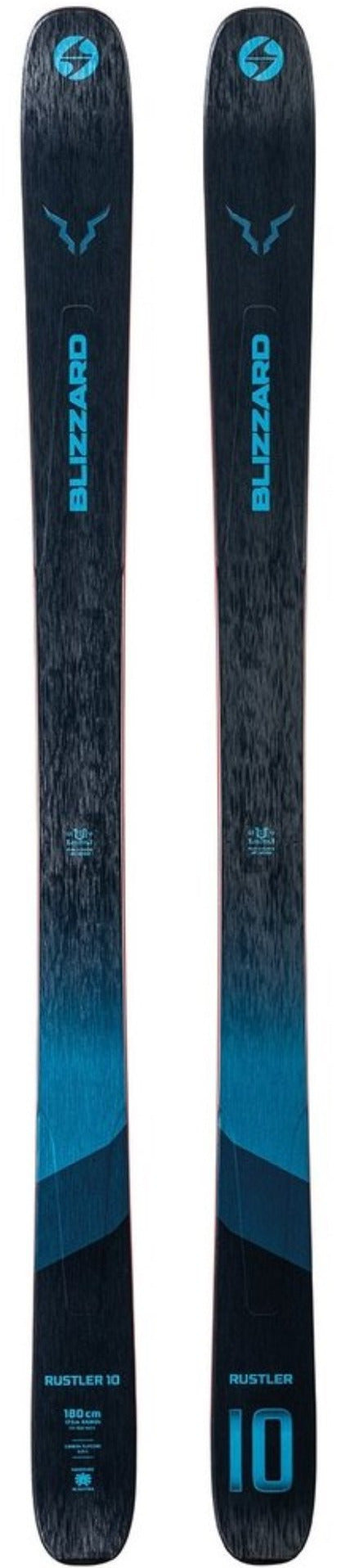 2021 Blizzard Rustler 10 snow skis - ProSkiGuy your Hometown Ski Shop on the web
