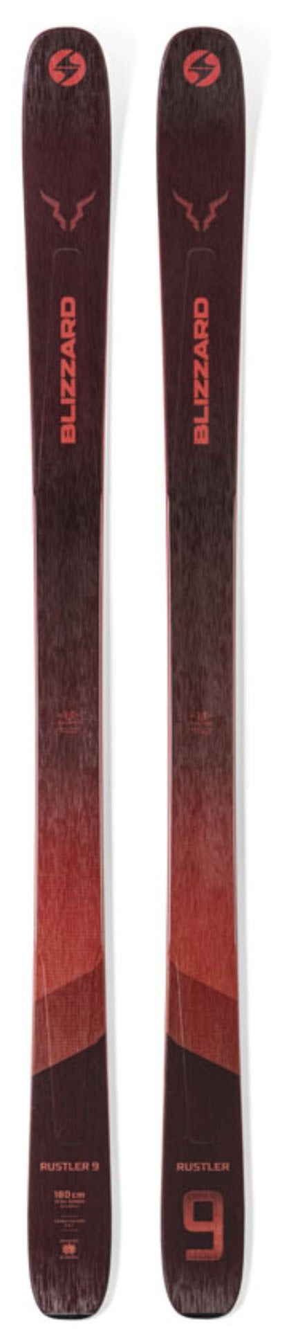 2021 Blizzard Rustler 9 snow skis - ProSkiGuy your Hometown Ski Shop on the web