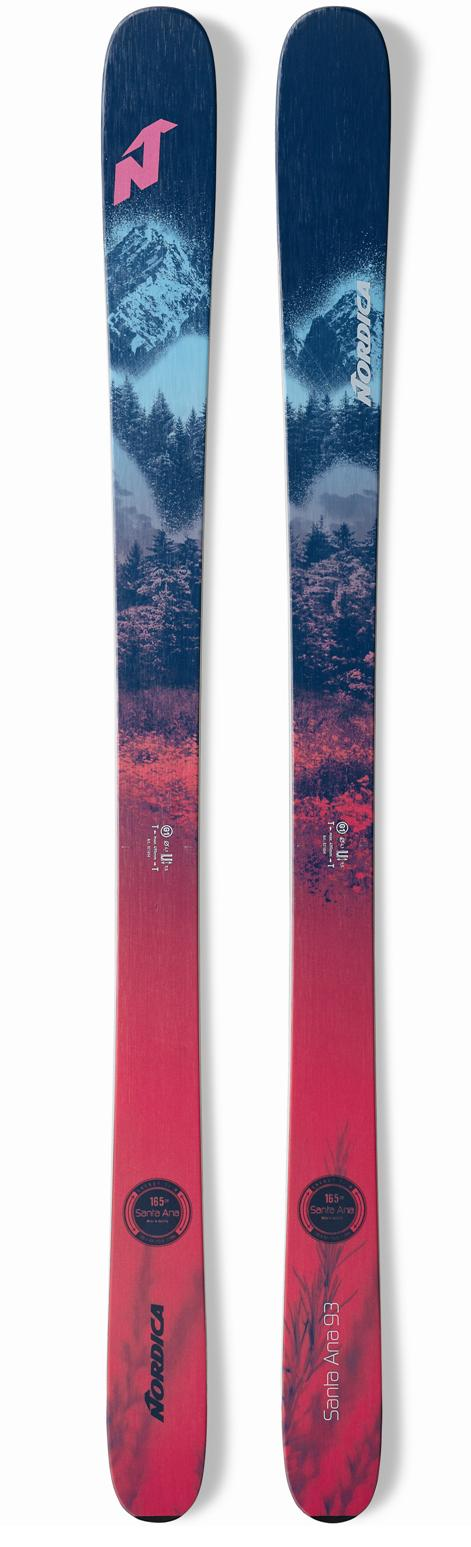 2021 Nordica Santa Ana 93 ladies snow skis - ProSkiGuy your Hometown Ski Shop on the web