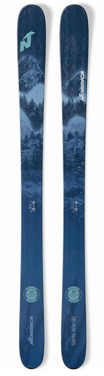2021 Nordica Santa Ana 98 ladies snow skis - ProSkiGuy your Hometown Ski Shop on the web