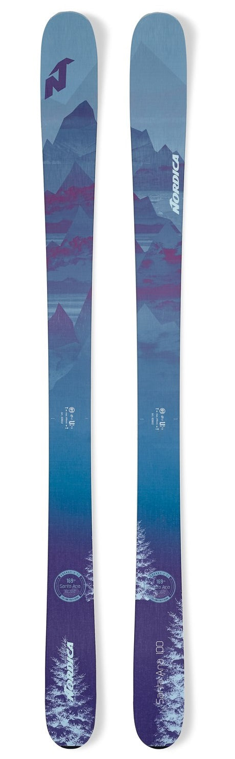 2020 Nordica Santa Ana 100 ladies snow skis - ProSkiGuy your Hometown Ski Shop on the web