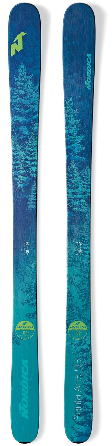 NORDICA 2019 Nordica Santa Ana 93 ladies snow skis (CLEARANCE) - ProSkiGuy