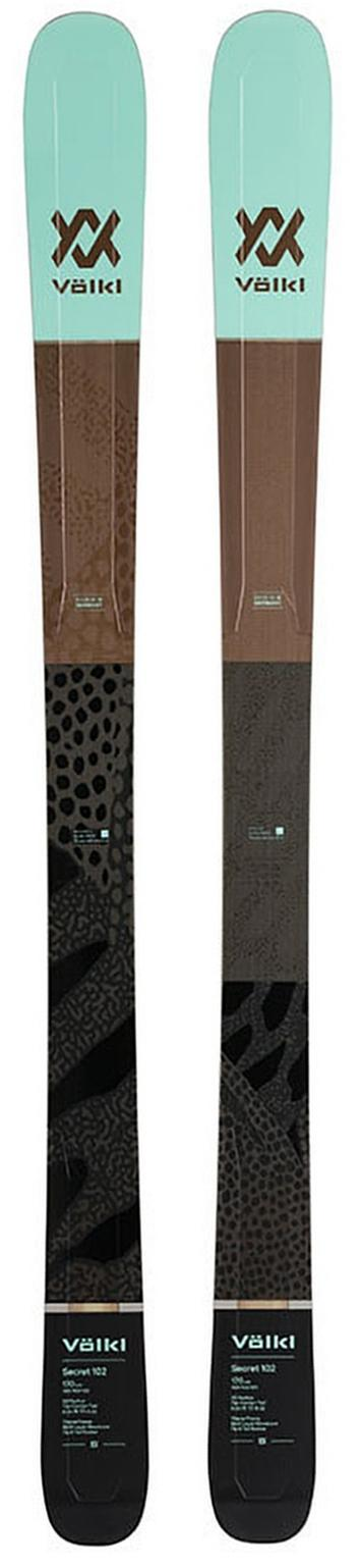 2020 VOLKL Secret 102 ladies snow skis - ProSkiGuy your Hometown Ski Shop on the web