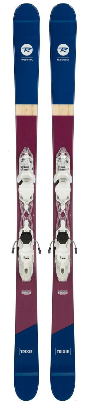 2019 Rossignol Trixie ladies snow skis with bindings (CLEARANCE) - ProSkiGuy your Hometown Ski Shop on the web