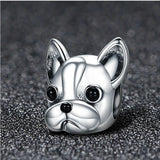 Sterling Silver French Bulldog Charm
