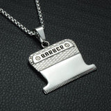 Barber Clipper Chain Necklace