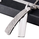 Barber Razor Tools Necklace