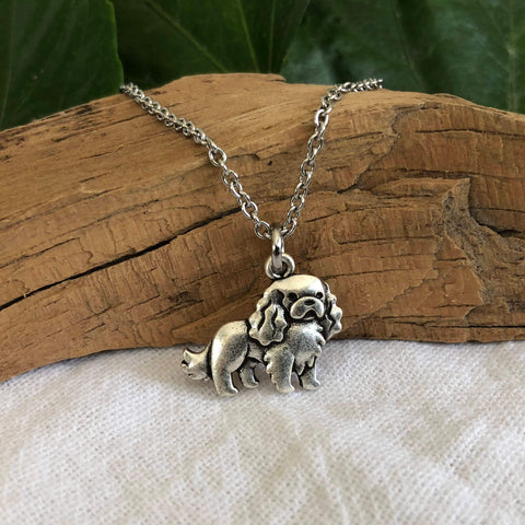 Cute Cavalier King Charles Spaniel Necklace