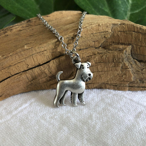Adorable Schnauzer Necklace