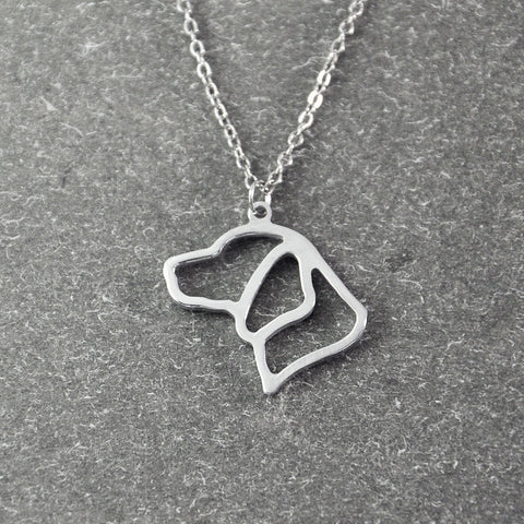 Beagle necklace memorial gift