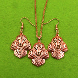 Beautiful Poodle Jewelry Set