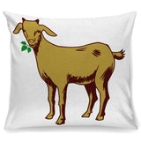 Beautiful Goat Pillow Cover