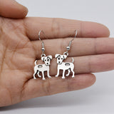 Adorable Jack Russell Earrings
