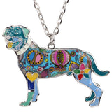 Awesome Rottweiler Multicolor Necklace