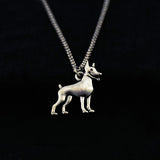 Adorable Doberman Necklace