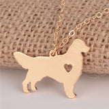 Adorable Golden Retriever Necklace